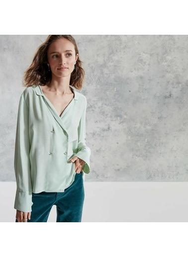 Yargıcı Kruvaze Gömlek Yeşil